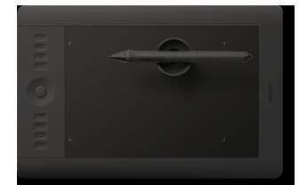 Чтобы ускорить процесс рисования и ретуши, я приобрел планшет Wacom Intuos 5M